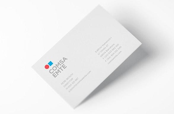 COMSA EMTE - One clear brand architecture - SUMMA : summa