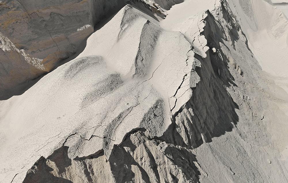 montaña de arena