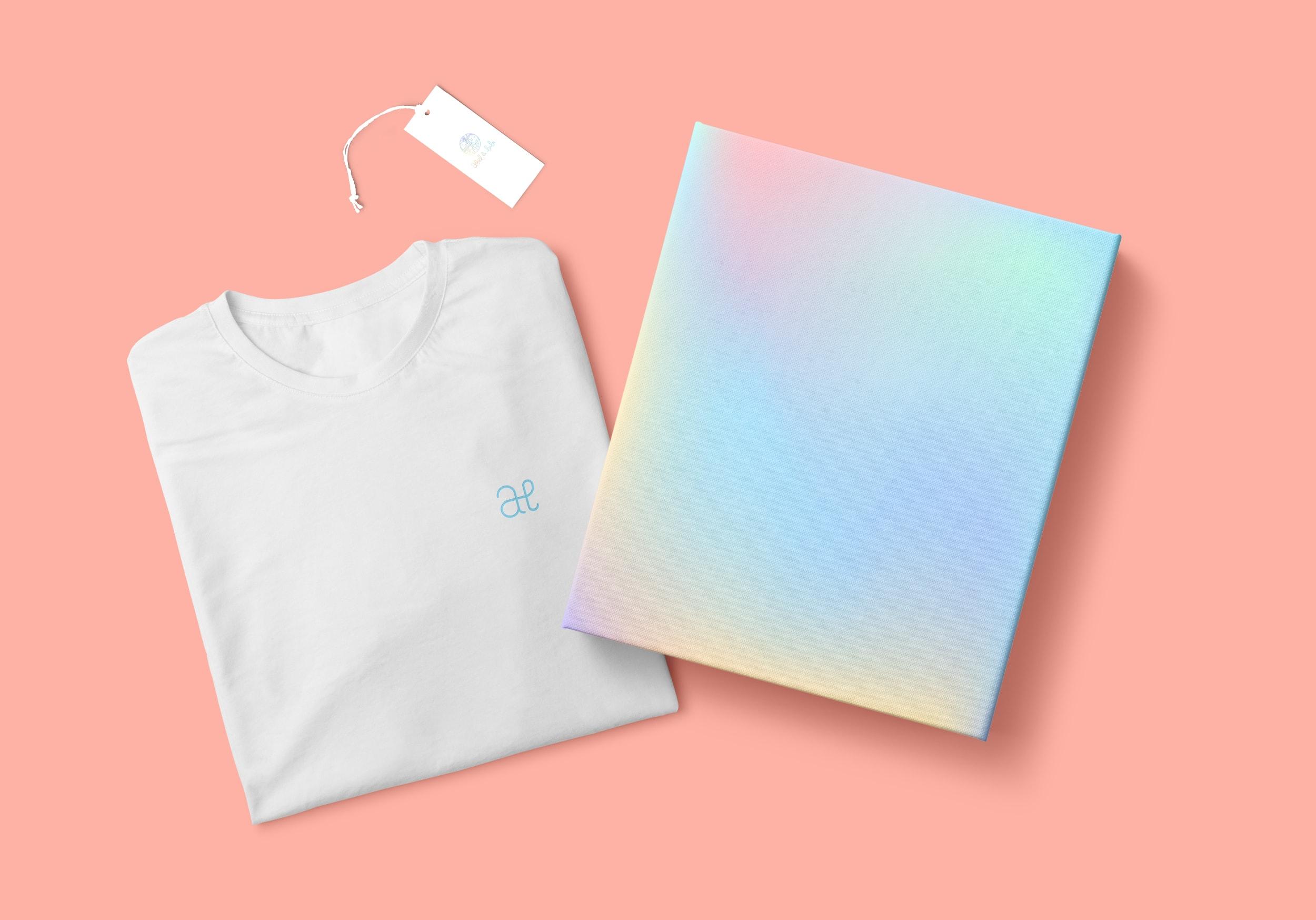 caja y camiseta abel&lula