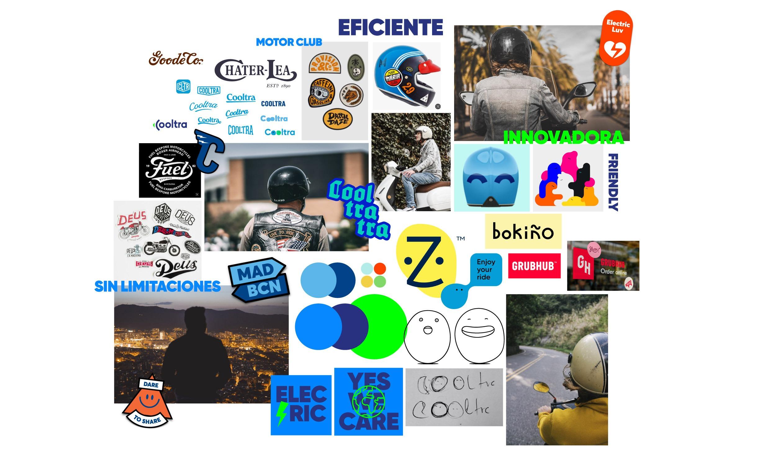 Inspiración de la etiqueta de Miró