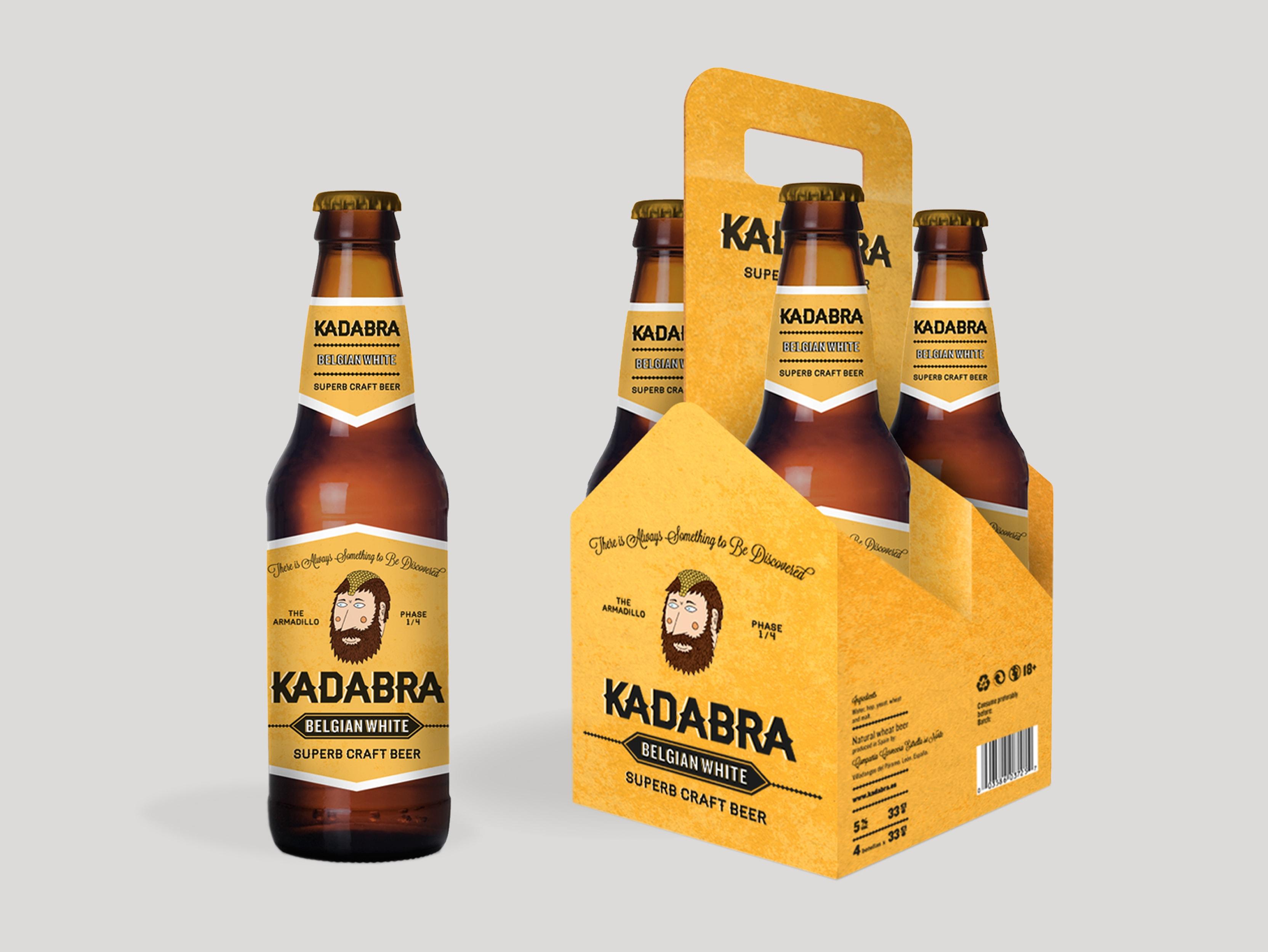 diseño packaging kadabra
