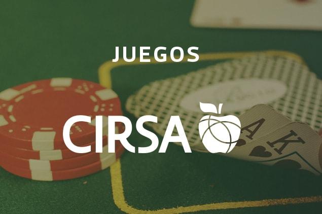 CIRSA mesa casino fichas cartas