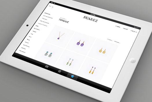 SUAREZ pagina web tableta